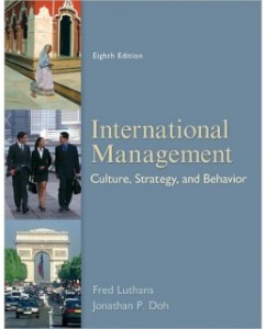 Test Bank for International Management, 8th Edition: Fred Luthans