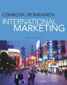 Test Bank for International Marketing, 10th Edition : Czinkota
