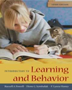 Test Bank for Introduction to Learning and Behavior, 3rd Edition: Powell