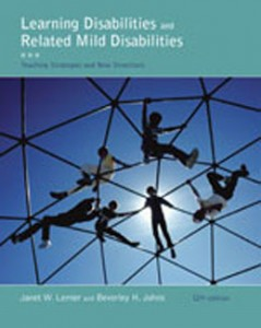 Test Bank for Learning Disabilities and Related Mild Disabilities, 12th Edition: Lerner