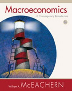 Test Bank for Macroeconomics A Contemporary Introduction, 9th Edition: McEachern