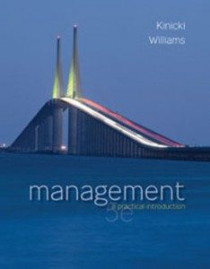 Test Bank for Management A Practical Introduction, 5th Edition: Kinicki