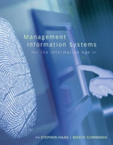 Test Bank for Management Information Systems for the Information Age, 8th Edition: Haag