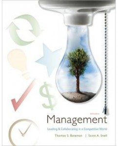 Test Bank for Management, 9th Edition: Thomas Bateman
