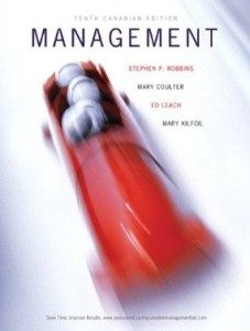 Test Bank for Management, 10th Canadian Edition : Robbins