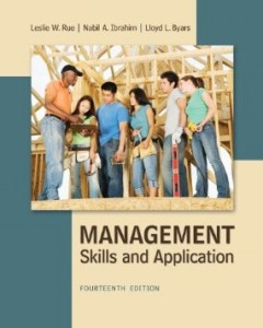 Test Bank for Management Skills and Application, 14th Edition : Rue