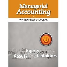 Managerial Accounting Warren 12th Edition Test Bank