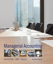 Managerial Accounting Whitecotton 2nd Edition Test Bank