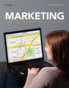 Test Bank for Marketing, 5th Canadian Edition: Lamb