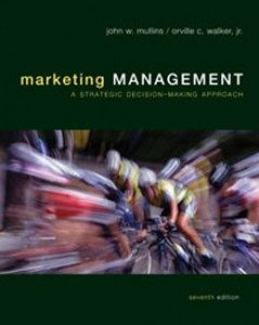 Test Bank for Marketing Management A Strategic Decision Making Approach, 7th Edition: Mullins