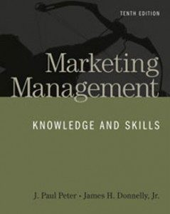 Test Bank for Marketing Management Knowledge and Skills, 10th Edition: Peter