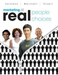 Test Bank for Marketing Real People Real Choices, 6th Edition : Solomon