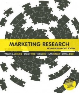 Test Bank for Marketing Research, 2nd Asia Pacific Edition : Zikmund