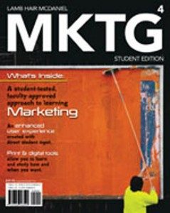 Test Bank for MKTG, 4th Edition: Lamb