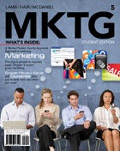 Test Bank for MKTG, 5th Edition: Lamb