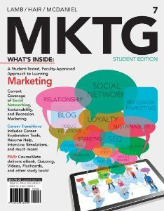 Test Bank for MKTG, 7th Edition : Lamb