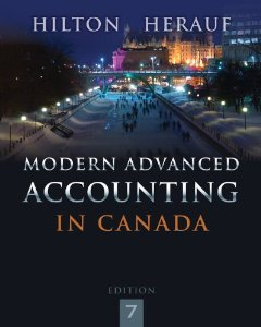 Test Bank for Modern Advanced Accounting in Canada, 7th Edition : Hilton