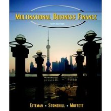Multinational Business Finance Eiteman 12th Edition Solutions Manual