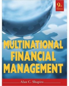 Test Bank for Multinational Financial Management, 9th Edition: Alan C. Shapiro