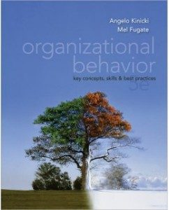 Test Bank for Organizational Behavior, 5th Edition: Angelo Kinicki