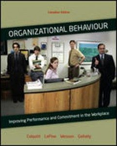 Test Bank for Organizational Behaviour, 1st Canadian Edition: Colquitt