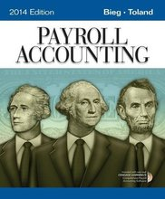 Payroll Accounting 2014 Bieg 24th Edition Solutions Manual