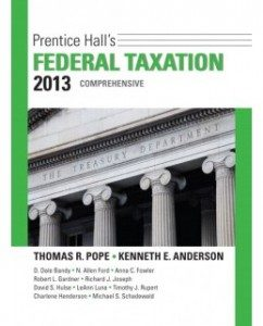 Test Bank for Prentice Hall's Federal Taxation 2013: Comprehensive, 26th Edition: Thomas R. Pope