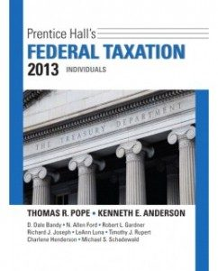 Test Bank for Prentice Hall's Federal Taxation 2013: Individuals, 26th Edition: Thomas R. Pope