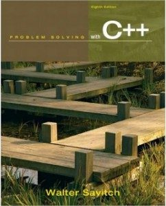Test Bank for Problem Solving with C++, 8th Edition: Walter Savitch