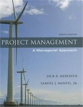 Project Management A Managerial Approach Meredith 8th Edition Solutions Manual