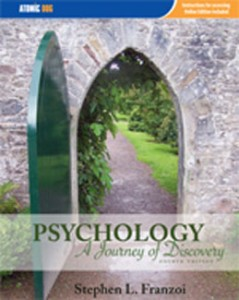 Test Bank for Psychology A Journey of Discovery, 4th Edition: Franzoi