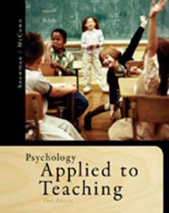 Test Bank for Psychology Applied to Teaching, 13th Edition: Snowman