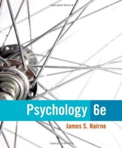 Test Bank for Psychology, 6th Edition : Nairne