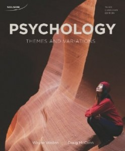 Test Bank for Psychology Themes and Variations, 3rd Canadian Edition : Weiten