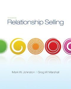 Test Bank for Relationship Selling 3th Edition Mark Johnston
