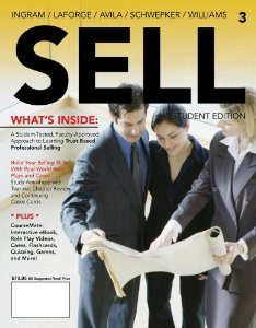 Test Bank for SELL, 3rd Edition : Ingram