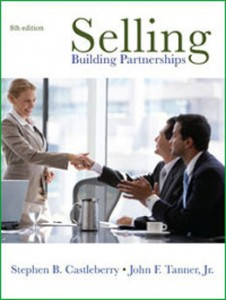 Test Bank for Selling Building Partnerships, 8th Edition: Castleberry