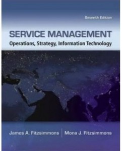 Test Bank for Service Management, 7th Edition: James A. Fitzsimmons