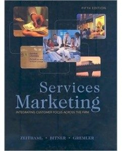 Test Bank for Services Marketing, 5th Edition: Valarie Zeithaml
