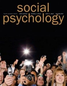 Test Bank for Social Psychology, 4th Canadian Edition: Aronson