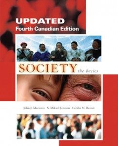 Test Bank for Society The Basics Updated, 4th Canadian Edition: Macionis