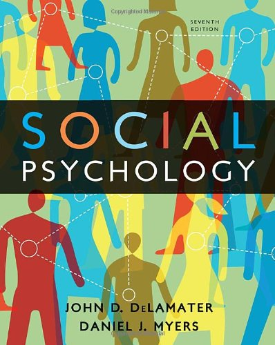 Solution Manual for Social Psychology 7th Edition by DeLamater