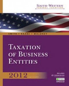 Test Bank for South Western Federal Taxation 2012 Taxation of Business Entities, 15th Edition: Smith