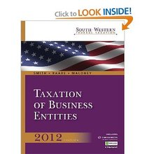 South-Western Federal Taxation 2012 Taxation of Business Entities Smith Raabe Maloney 15th Edition Solutions Manual
