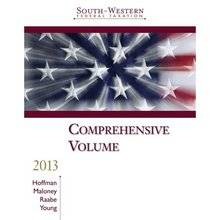 South-Western Federal Taxation 2013 Comprehensive Hoffman 36th Edition Solutions Manual