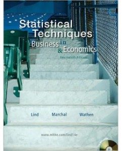 Test Bank for Statistical Techniques in Business and Economics, 14th Edition: Douglas Lind
