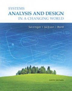 Test Bank for Systems Analysis and Design in a Changing World, 6th Edition: Satzinger