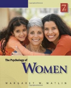 Test Bank for The Psychology of Women, 7th Edition : Matlin