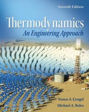 Thermodynamics An Engineering Approach Cengel 7th Edition Solutions Manual