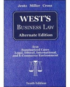 Test Bank for West's Business Law, 10th Edition: Kenneth W. Clarkson